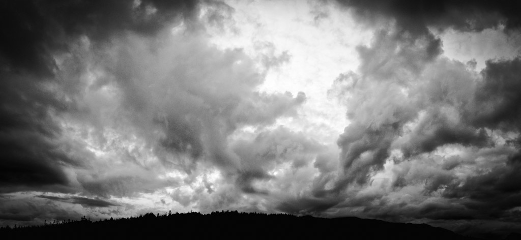 Saltspring Island Storm Clouds