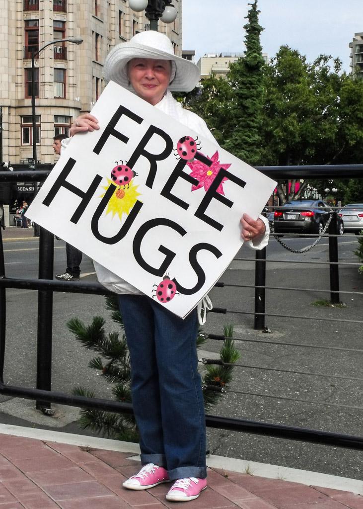Free Hugs, July 2011