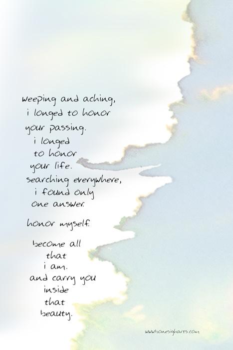 honoring you