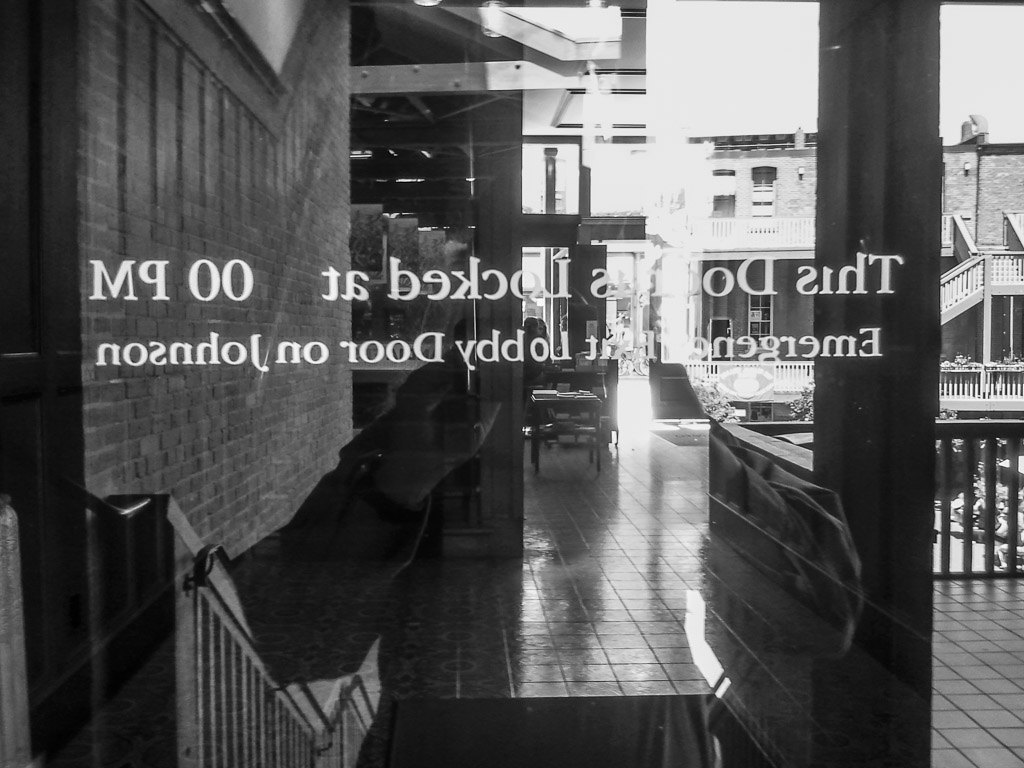 No Entry...
